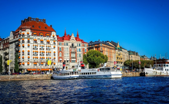 Cities I want to visit:Stockholm