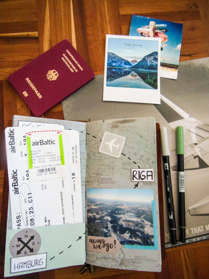 Travel Jurnal (Traveler´s Notebook)