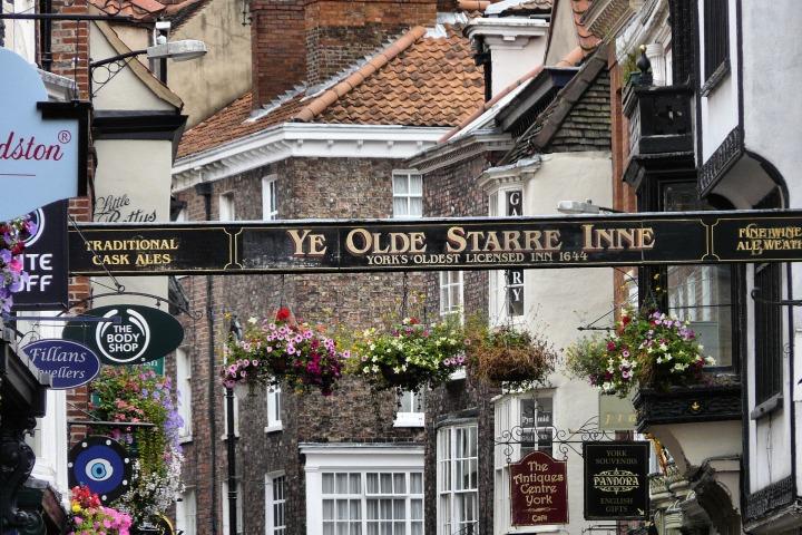 Historic city center of York