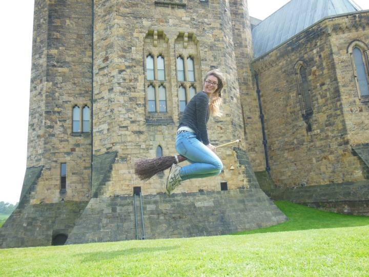 Flying lessom in Northumberland