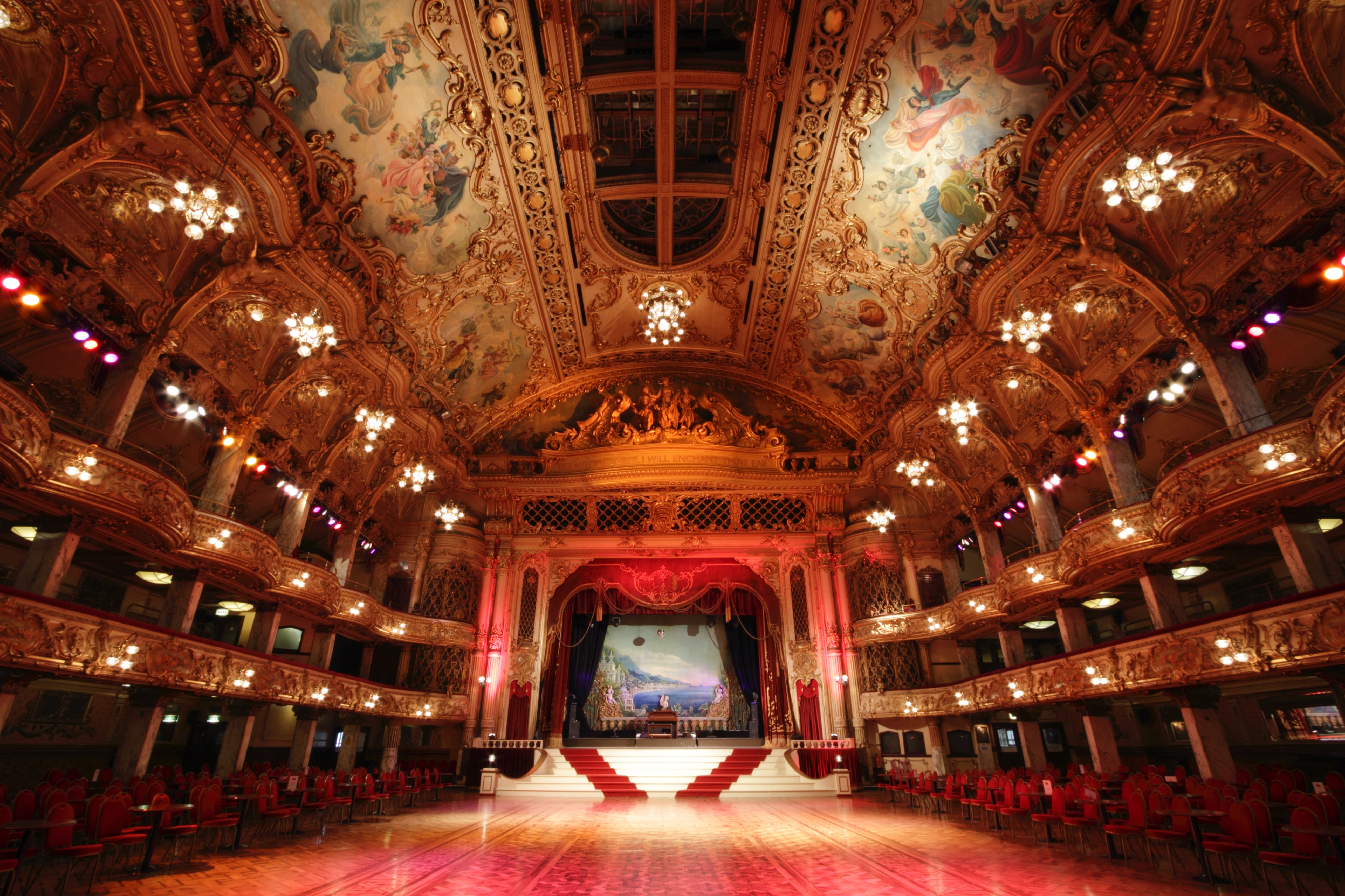 The ballroom of the Blackpool Tower