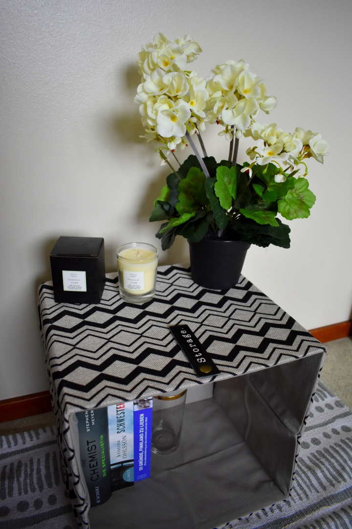 """My new """"bedside table"""""""