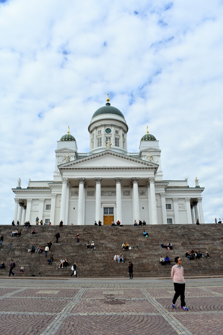 The cathedrale of Helsinki