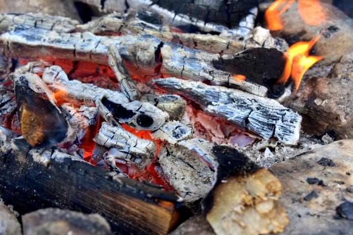 Bonfire at Ounasvaara
