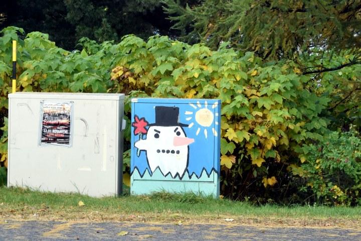 Streetart in Rovaniemi, Finland