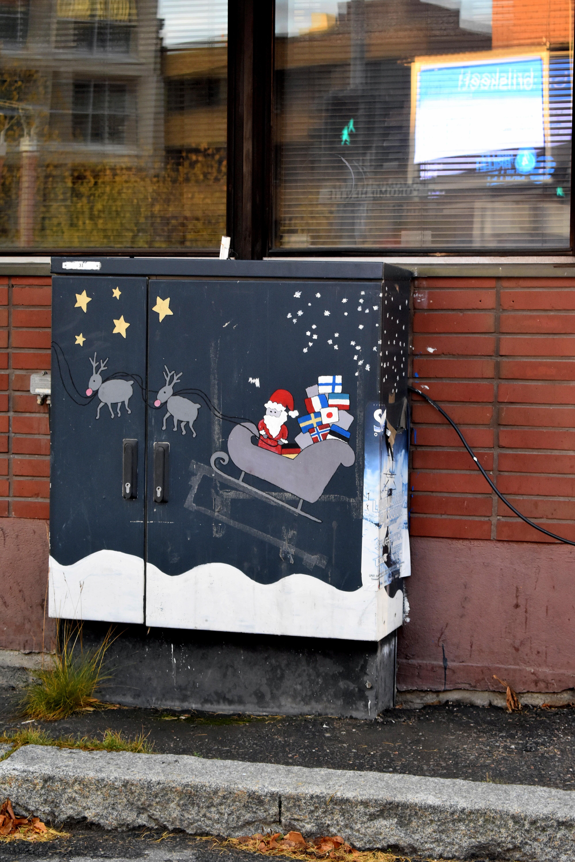 Santa Claus in Rovaniemi, Finland