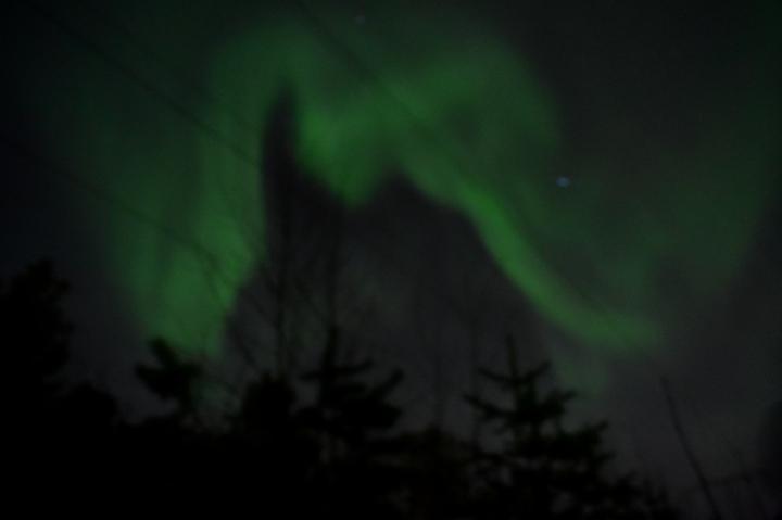 Northern Lights, Rovaniemi, Lapland