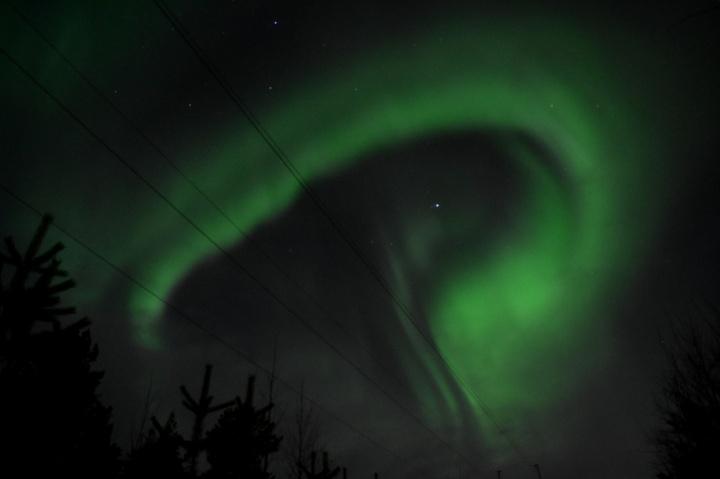 Nordlichter, Rovaniemi, Finnland