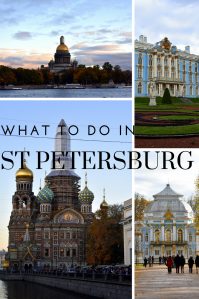 What to do in St. Petersburg