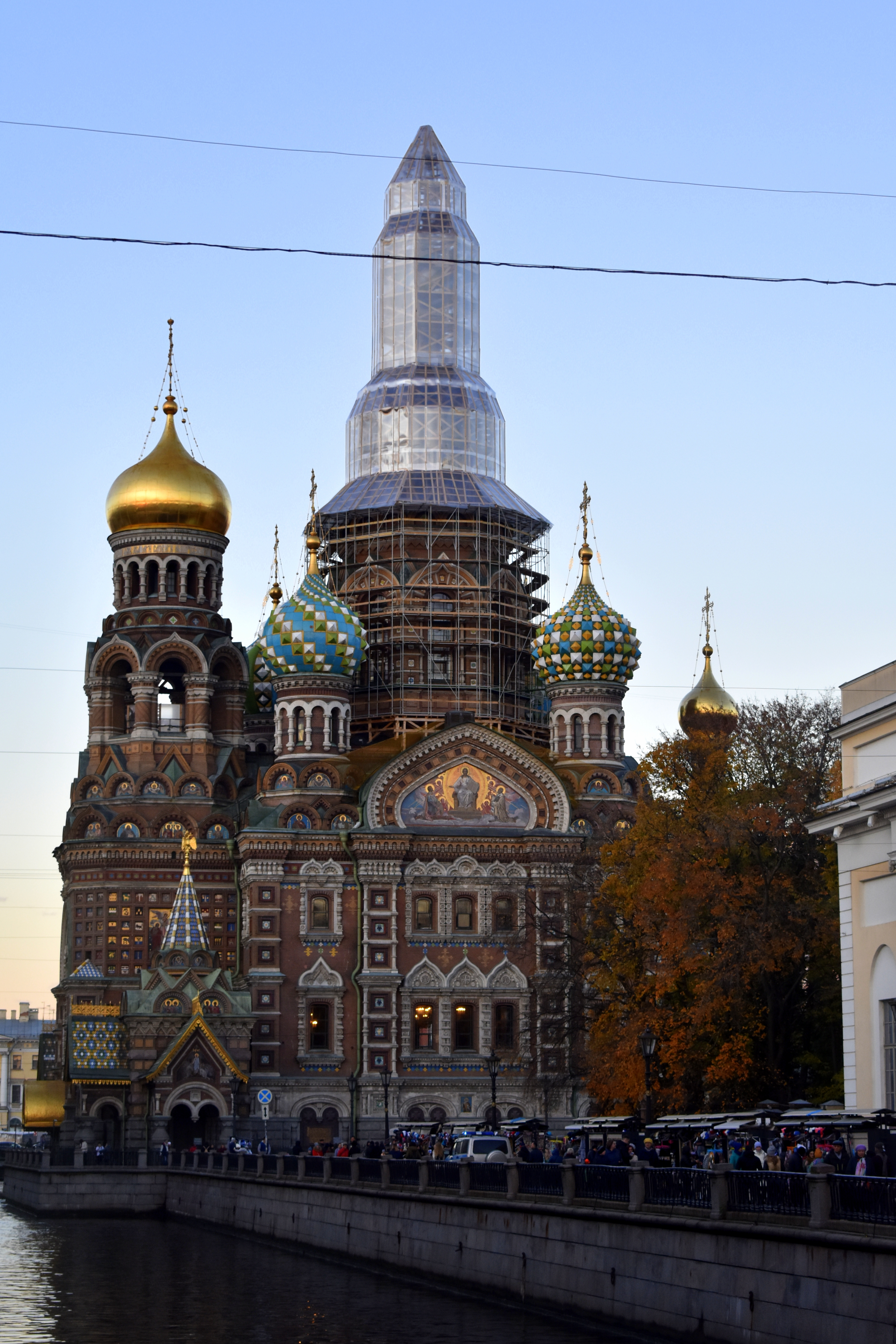 The Church od the Savior of Spilled Blood